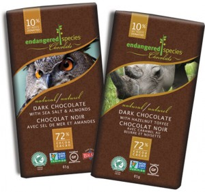 Endangered Species Ethically Traded Chocolate
