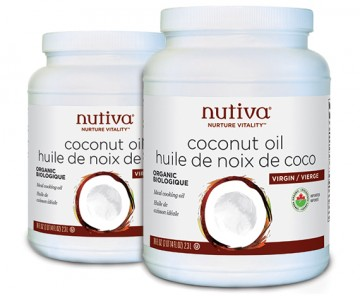 nutiva virgin organic coconut oil