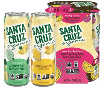 santa cruz carbonated lemonade