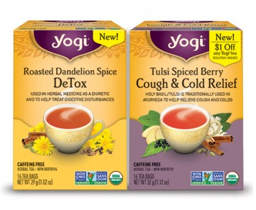 yogi dandelion and tulsi spiced tea